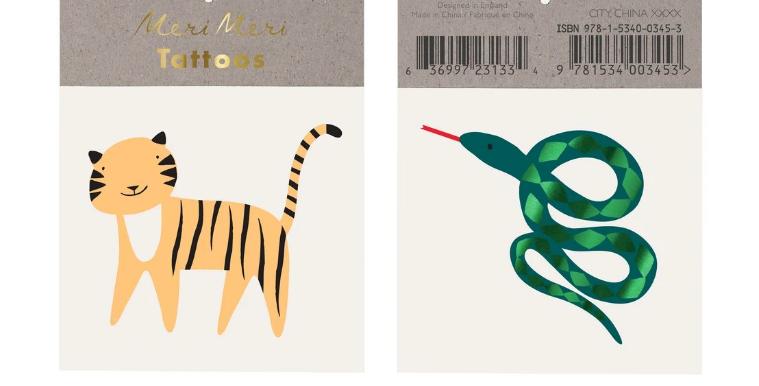 2 jungle tattoos