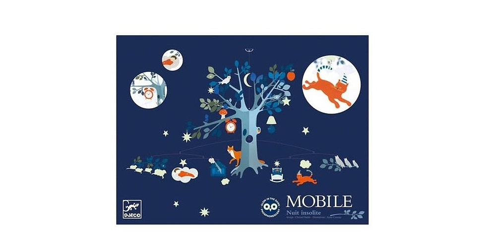 Mobiles polypro - Nuit insolite