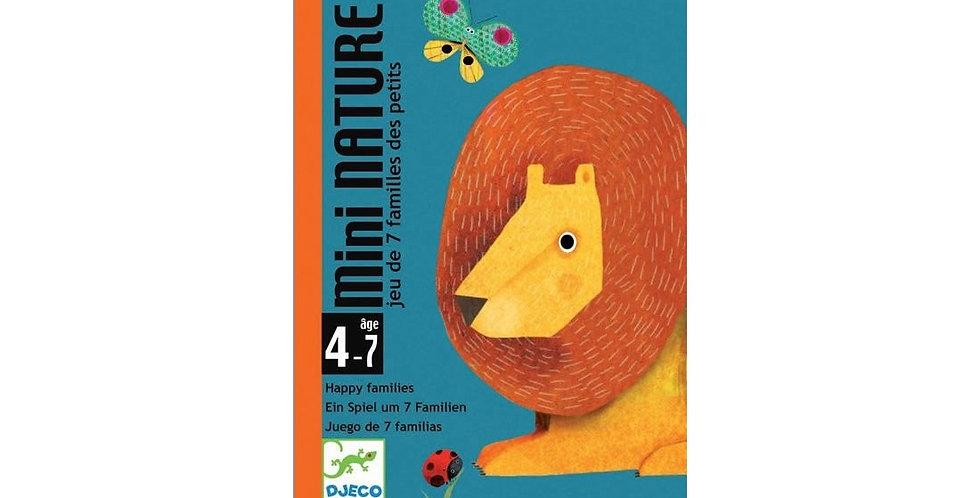 Jeux de cartes - Mini Nature