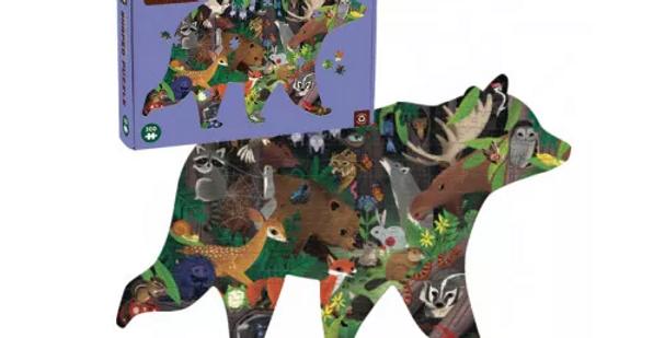300 pcs Shaped Puzzle - Woodland Forest