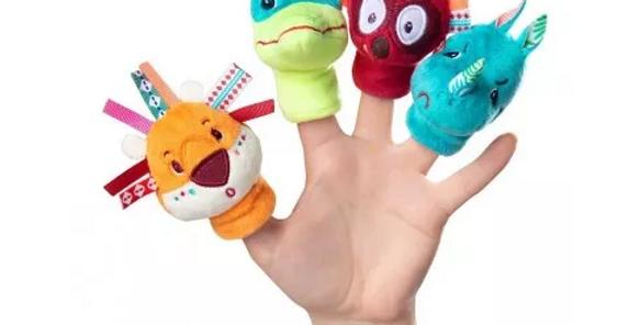 Jungle marionnettes à doigts