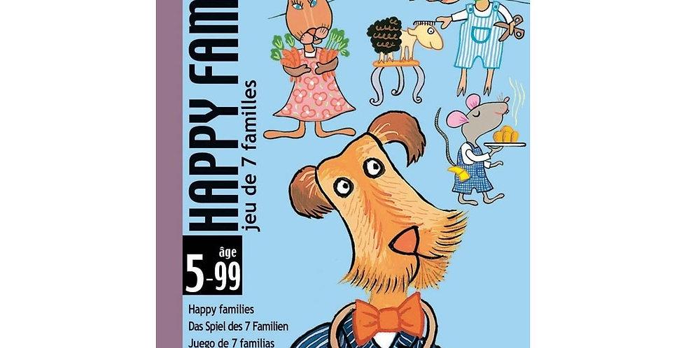 Jeux de cartes - Happy family