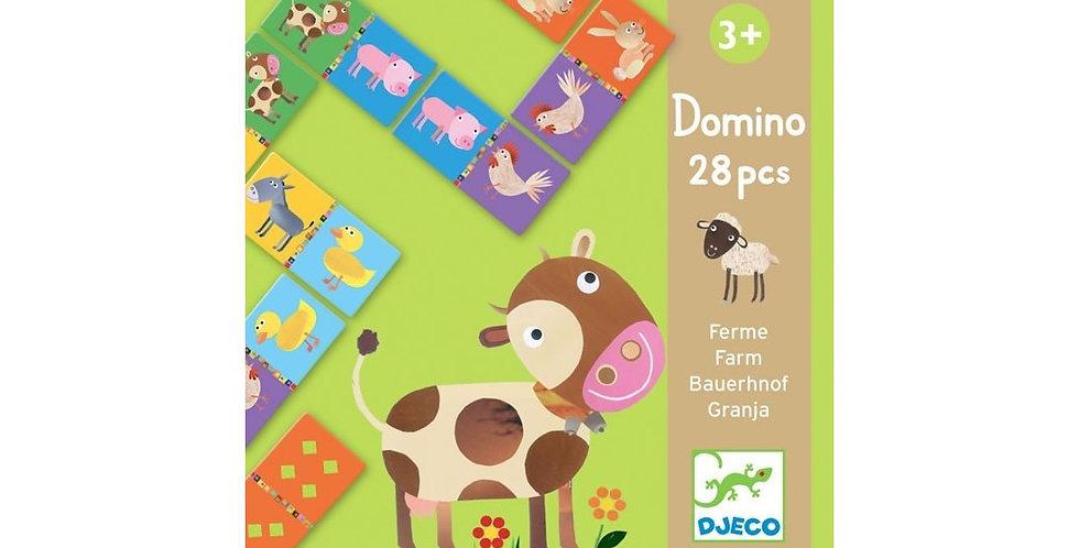 Jeux éducatifs - Domino ferme