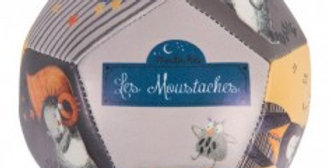 Ballon souple Les Moustaches