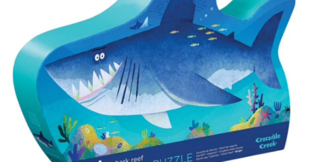 36 pc Shaped Puzzle - Shark reef