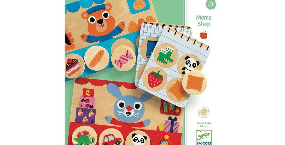 Jeux éducatifs bois - Memo Loto Shop