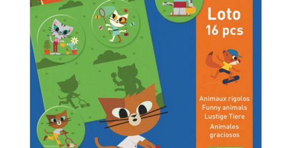 Jeux éducatifs - Loto Animaux rigolos