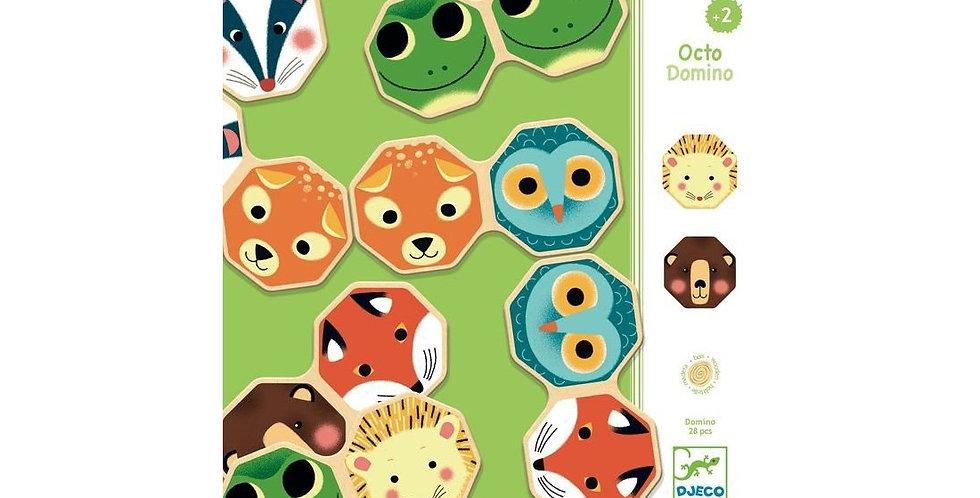 Jeux éducatifs bois - Octo Domino