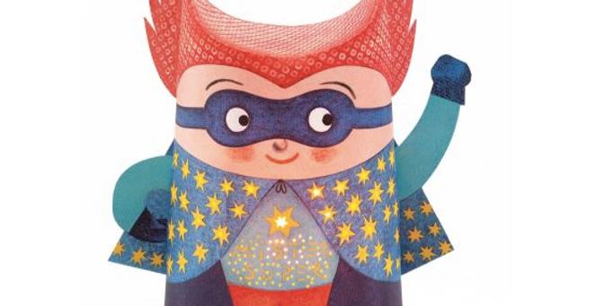 Mini veilleuses papier - Mister Super
