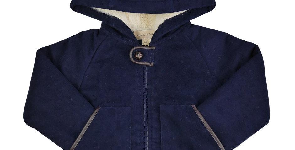 Manteau douillet moleskine