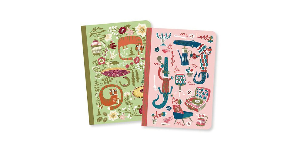 Lovely Paper - Duo petits carnets Asa