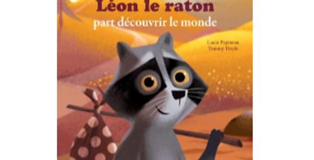 Mes P'tits albums - Léon le raton  part découvrir le monde
