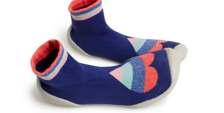 Chaussons coeur vibrant