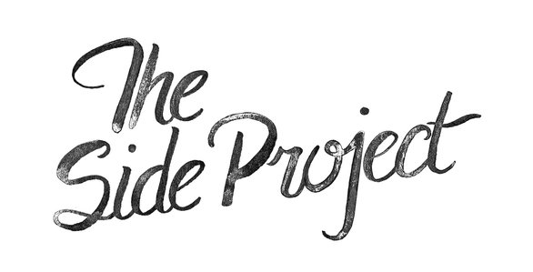 Lettering for exhibition title projection