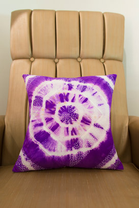 Cushion from recycled fabrics