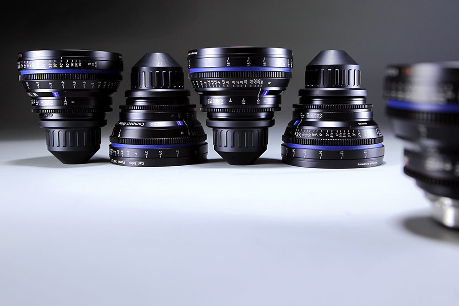 Set Compact Prime Zeiss Super Speed