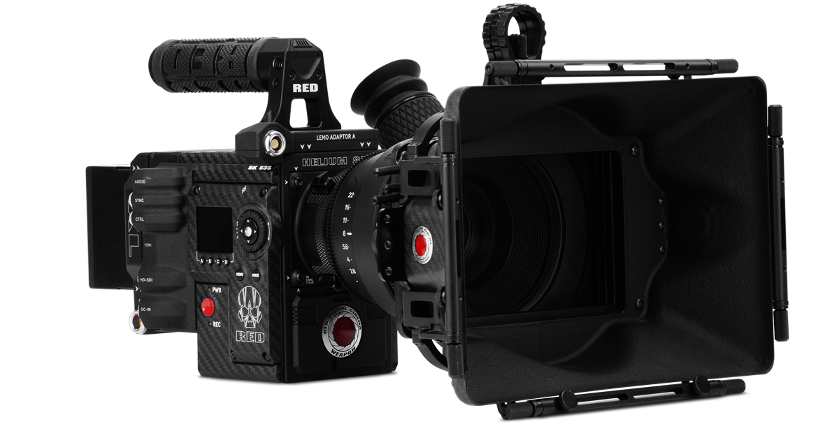 RED EPIC WEAPON HELIUM 8K
