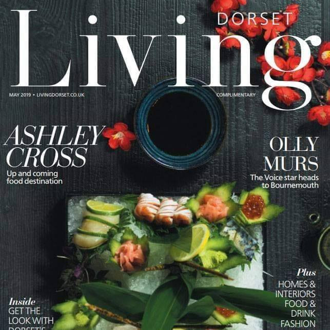 Our photo for Drgnfly is on the front cover of Dorset Living Magazine!