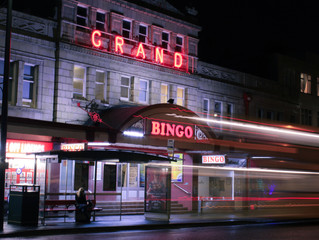 Few pictures of the last ever bingo session in Westbourne.