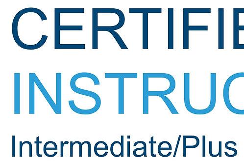 IFP Certified Instructor - Intermediate/Plus (3.0 - 3.9)