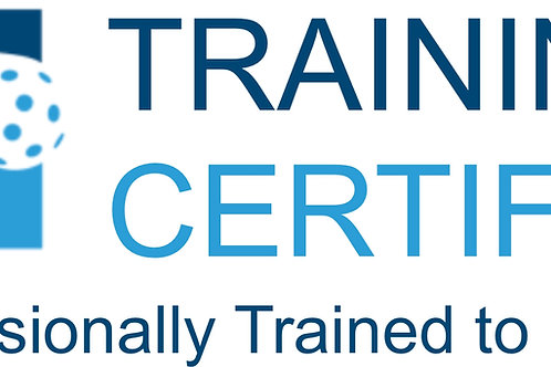 IFP Training Certified - Professionally Trained to Instruct