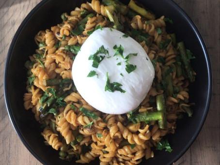 Garlic Achaar Pasta