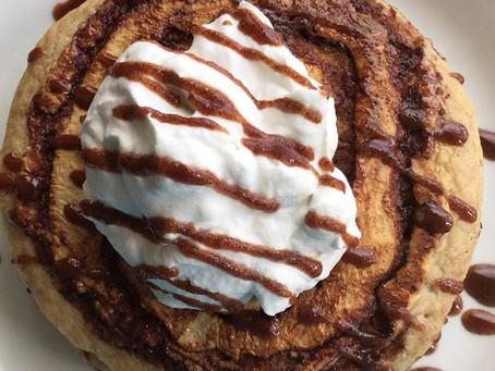 Snickerdoodle Swirl Pancakes