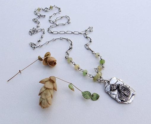 Crocodile Tag Necklace