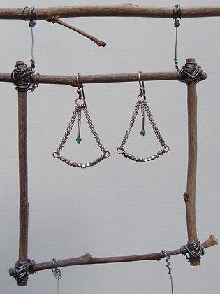 Surveyor's Earrings