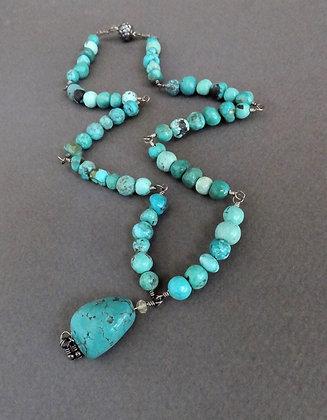 Turquoise Segment Necklace