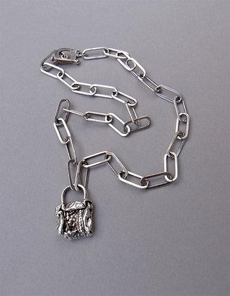 Pandora's Lock Necklace