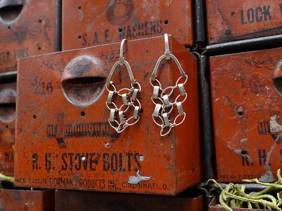Sterling Lace Earrings