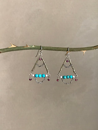Three at a Time Earrings