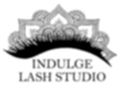 Indulge Lash Studio Watermark Vector JPE