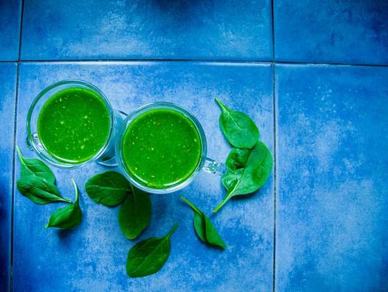 שייקים ירוקים – מנה גדושה של נוגדי חמצון