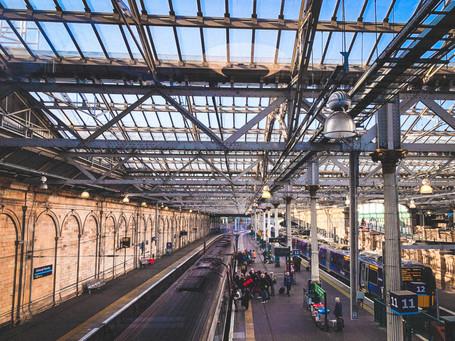 Edinburgh Waverley railway station