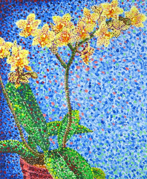 pointillist_orchids_by_madame_kikue-d4zj