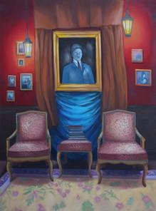 The-haunted-house-olejomaba-na-plátně-85