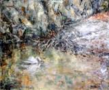 č.23  olej na plátně ,,Předjaří v Prokop