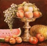 č.8  akryl,olejový pastel na plátně, dvo