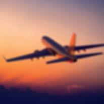 plane traveling