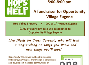 Hops that Help fundraiser at Hop Valley Oct. 26