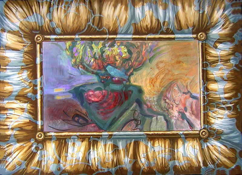 L'absinthe vierge rend pieu, 81x60
