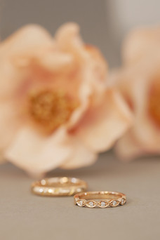 Wedding rings D&M