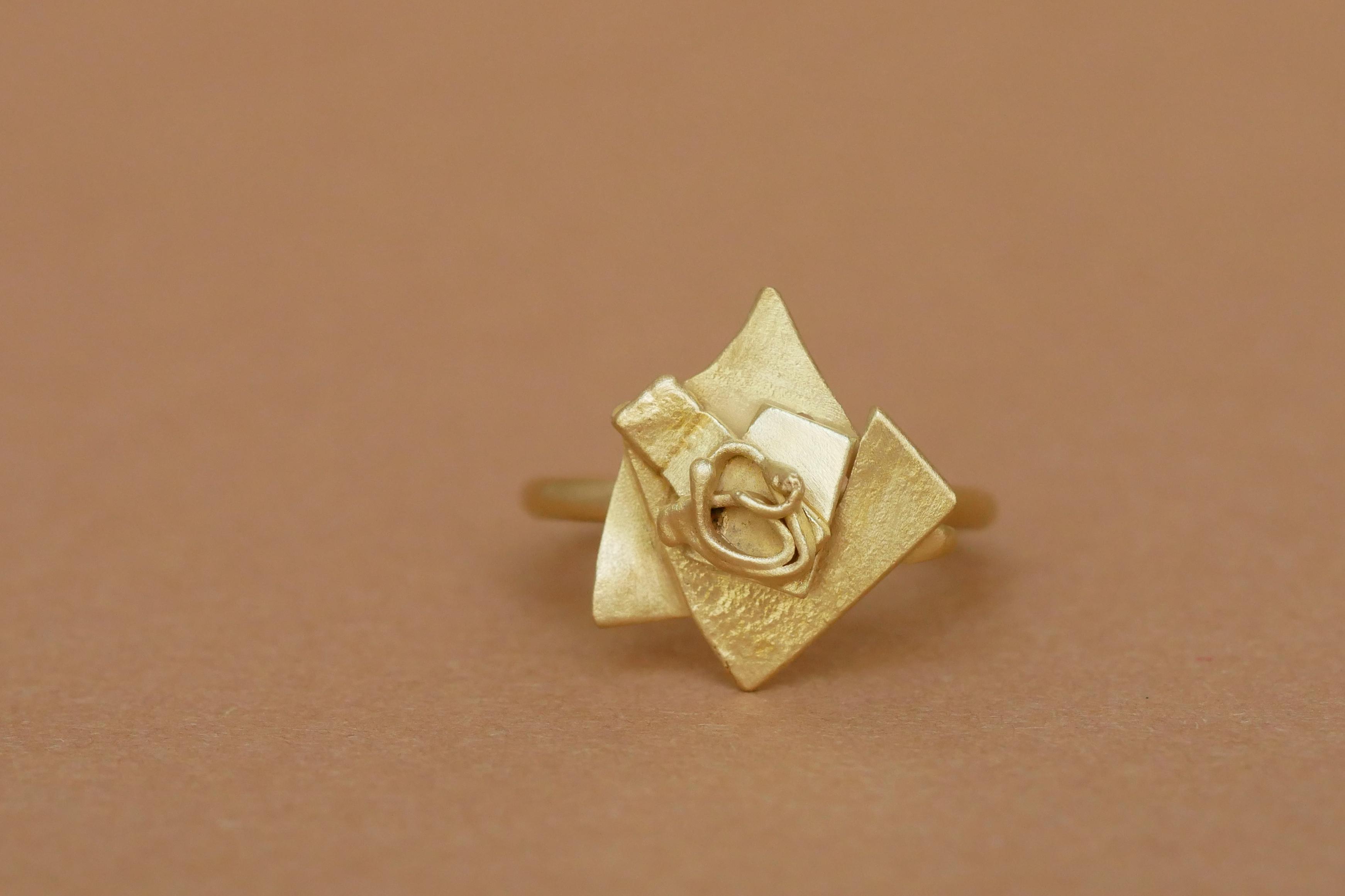 TUKOA-Tu me fais fondre-Ring Gold