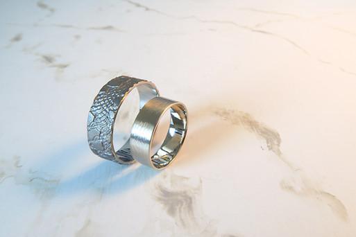 Wedding rings Aqua&Tilia