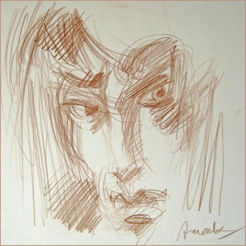 Amador, Regret, 25x25