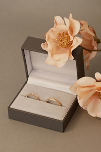Wedding rings D&M