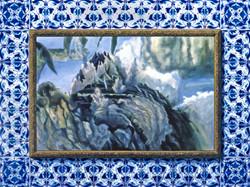 Bleu de four, 195x146