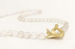 TUKOA-Coral Embrace-Collier Silber vergo